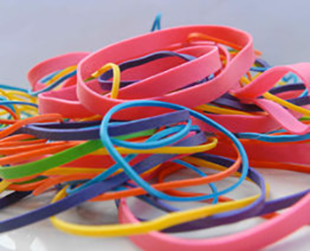 non-latex rubber bands